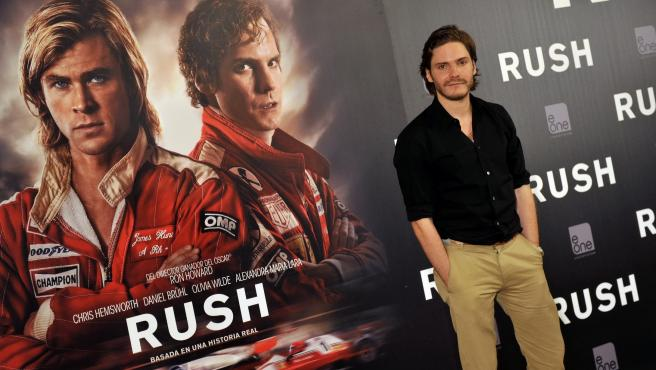 El actor Daniel Brühl.