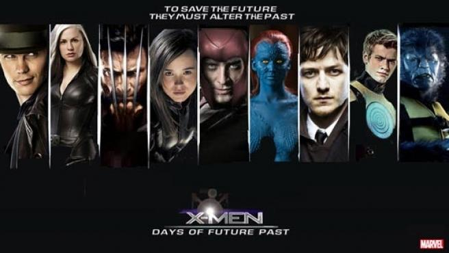 Cartel de la cinta 'X-Men: Days of Future Past'.