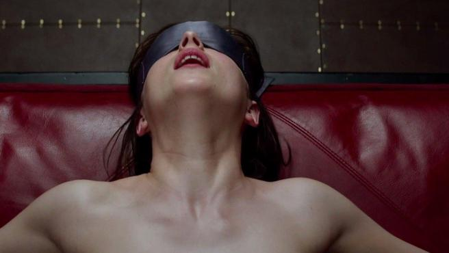 <p>Dakota Johnson en ´50 sombras de Grey´</p>