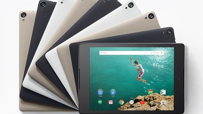 <p>La nueva tablet Nexus 9.</p>