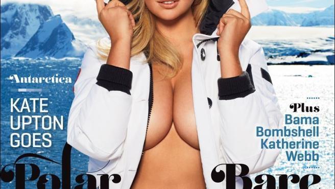 Portada del especial de trajes de baño 2013 de <em>Sports Illustrated,</em> con Kate Upton.