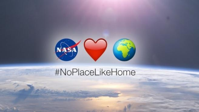 "<p>#NoPlaceLikeHome, campaña de la NASA por el Día de la Tierra<span style=""margin: 0px; padding: 0px; border: 0px; outline: 0px; font-size: 11px; vertical-align: baseline; color: #000000; font-family: Arial, Helvetica, sans-serif; font-style: normal; font-variant: normal; font-weight: normal; letter-spacing: normal; orphans: auto; text-align: start; text-indent: 0px; text-transform: none; white-space: normal; widows: 1; word-spacing: 0px; -webkit-text-stroke-width: 0px; background: #ffffff;""><span class=""Apple-converted-space""><br /></span><br /></span></p>"