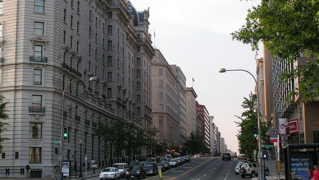 Calles del centro de Washington.